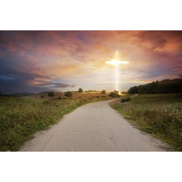 Road To Glowing Cross