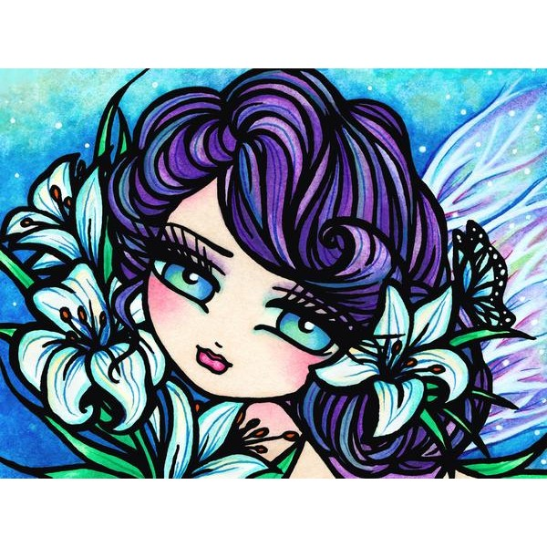 Easter Lily Fairy