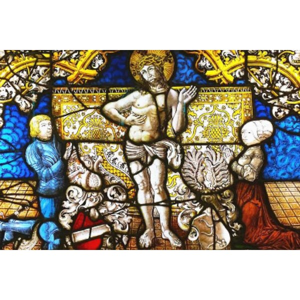 Jesus Stained Glass