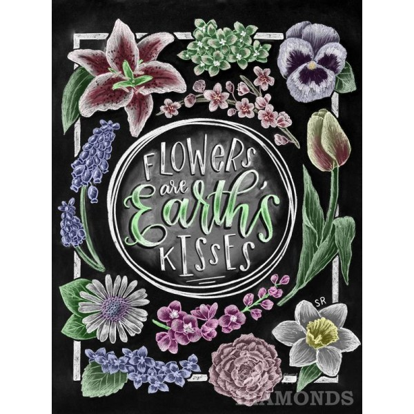 Flowers Are Earth's Kisses