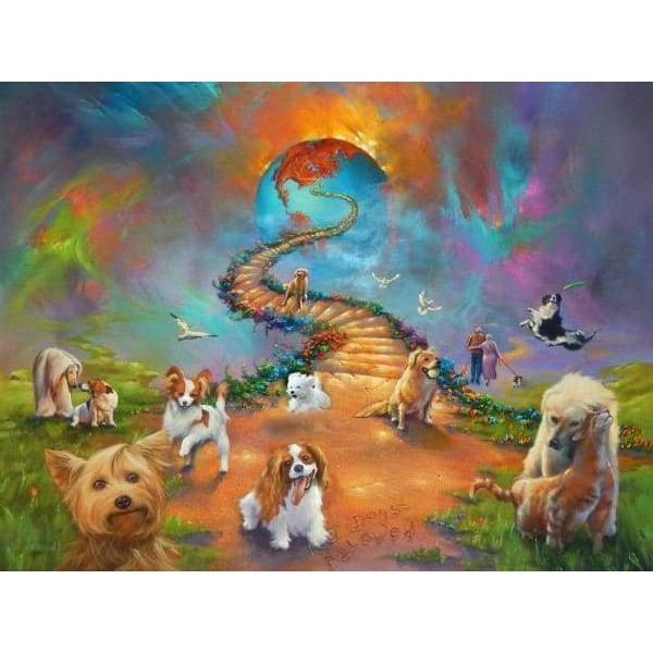 All Dogs Go To Heaven Bold Sky